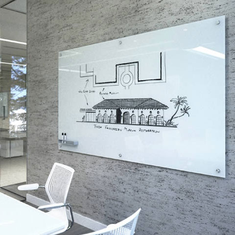 Glass Dry Erase Board Surfaces by Commercial Systems